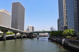 水都・大阪の風景の写真素材 [FYI03147594]
