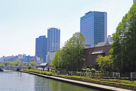 都会の川の写真素材 [FYI03147599]
