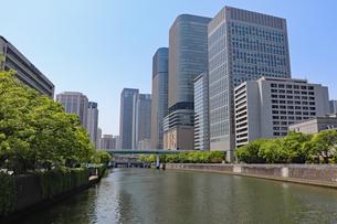 大阪・中之島の風景の写真素材 [FYI03147603]