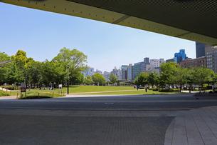 都会の公園の写真素材 [FYI03147606]