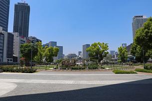 都会の公園の写真素材 [FYI03147607]