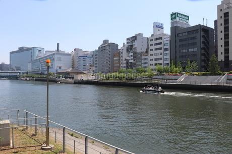 大阪・土佐堀川と中之島公園の写真素材 [FYI03147611]
