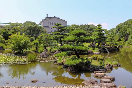 大阪・天王寺公園の慶沢園の写真素材 [FYI03147613]