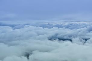 ニューカレドニア上空から見た雲の写真素材 [FYI03148404]
