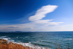 冬空の雲の写真素材 [FYI03148419]