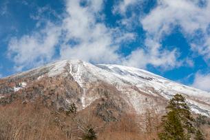 冬の男体山 奥日光 栃木県の写真素材 [FYI03148828]