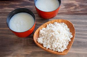 米糀と甘酒の写真素材 [FYI03148832]
