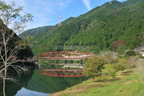 赤い橋の写真素材 [FYI03149163]