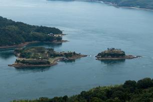 日本遺産 村上水軍 海賊の 居城跡 能島 鯛崎島の写真素材 [FYI03149167]