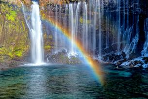 白糸の滝 日本 静岡県 富士宮市の写真素材 [FYI03150133]