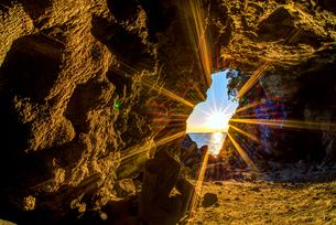 玉川観音付近の洞穴 日本 福井県 丹生郡の写真素材 [FYI03150165]
