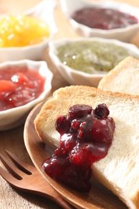 おいしい朝食のひとときの写真素材 [FYI03150192]