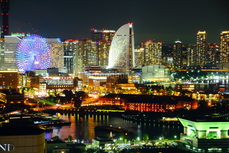 横浜マリンタワー 日本 神奈川県 横浜市の写真素材 [FYI03150242]