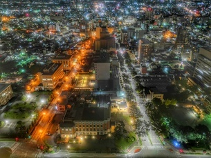 群馬県庁 日本 群馬県 前橋市の写真素材 [FYI03150246]