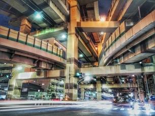 箱崎ジャンクション 日本 東京都 中央区の写真素材 [FYI03150251]