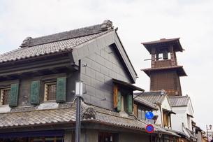 小江戸川越市の時の鐘の写真素材 [FYI03150296]