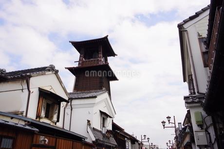 小江戸川越市の時の鐘の写真素材 [FYI03150297]