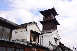 小江戸川越市の時の鐘の写真素材 [FYI03150298]