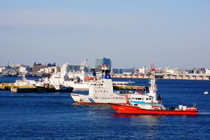 消防船のイメージの写真素材 [FYI03150319]