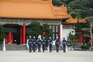 衛兵交代式 台湾の写真素材 [FYI03150328]