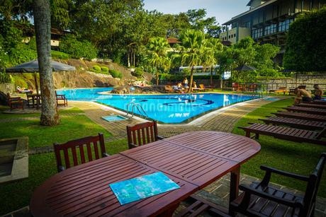 ラグジュアリーホテルのイメージ(スリランカ・キャンディー)の写真素材 [FYI03150573]
