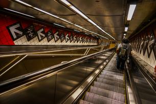 ニューヨークの地下鉄のイメージの写真素材 [FYI03150631]