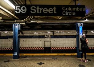 ニューヨークの地下鉄のイメージの写真素材 [FYI03150742]