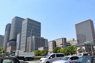 都会のオフィス街の写真素材 [FYI03150754]