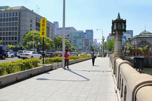 大阪・御堂筋と大江橋の写真素材 [FYI03150764]