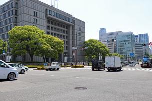 大阪・中之島の風景の写真素材 [FYI03150765]