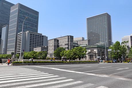 大阪・淀屋橋の風景の写真素材 [FYI03150776]