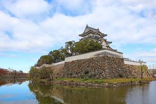水に浮かぶお城の写真素材 [FYI03150832]