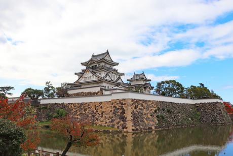 秋の岸和田城の写真素材 [FYI03150836]