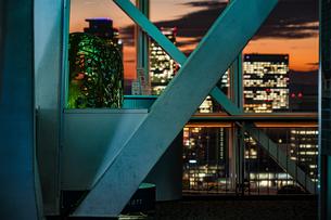 名古屋テレビ塔の展望台の写真素材 [FYI03150842]