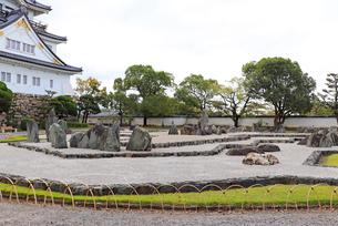 岸和田城の庭園の写真素材 [FYI03150843]