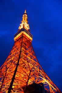東京タワーのイメージの写真素材 [FYI03150866]