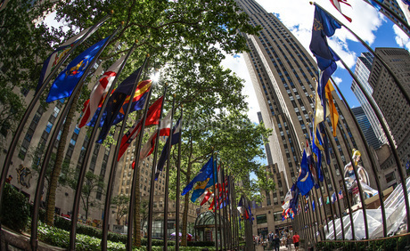 ロックフェラーセンターのイメージ(ニューヨーク)の写真素材 [FYI03150872]