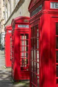 ロンドンの電話ボックスの写真素材 [FYI03151335]