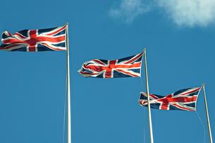 イギリス国旗の写真素材 [FYI03151381]