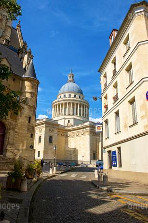 パリのパンテオンの写真素材 [FYI03151416]