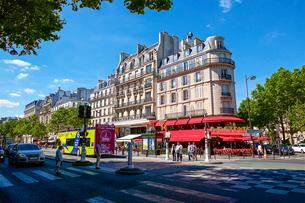 パリのモンパルナス地区の写真素材 [FYI03151421]