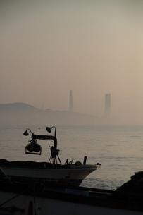 三浦海岸 漁船の写真素材 [FYI03152079]