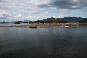 広島 牡蠣棚の写真素材 [FYI03152080]