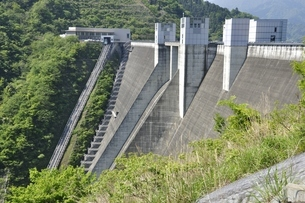 宮ヶ瀬ダムの写真素材 [FYI03152180]