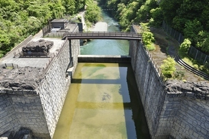 宮ヶ瀬副ダムの写真素材 [FYI03152203]