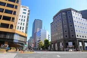 神谷町交差点の写真素材 [FYI03152267]
