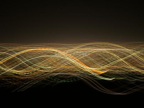 SFチックな光の線の写真素材 [FYI03152764]