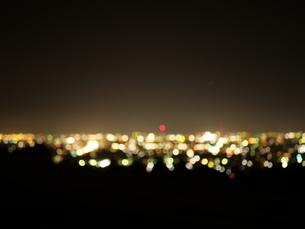 ボヤけた夜景の写真素材 [FYI03152832]