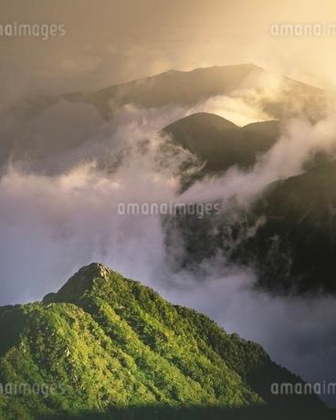 木曽駒ヶ岳 日本 長野県 上松町の写真素材 [FYI03153077]