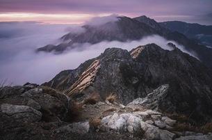 唐松岳 の写真素材 [FYI03153086]